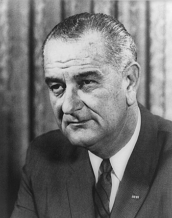 President Lyndon Johnson Official Portrait Photo Print