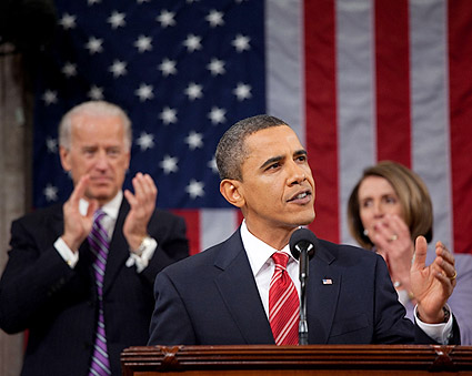 President Obama State of the Union 2010 Photo Print