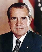 President Richard Nixon Portrait Photo Print