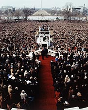 President Ronald Reagan Inauguration, 1981 Photo Print for Sale
