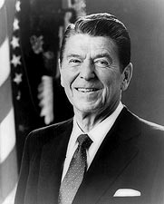 President Ronald Reagan Official Portrait Photo Print for Sale