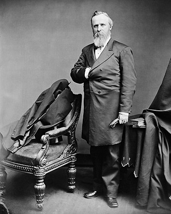 President Rutherford B Hayes Brady Portrait Photo Print