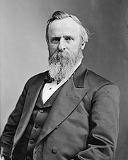 19th U.S. President Rutherford B. Hayes Photos