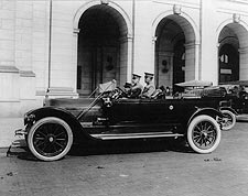 President Taft Antique Car, Union Station Photo Print for Sale