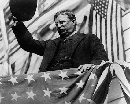 President Theodore Roosevelt in New Jersey Photo Print
