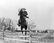 President Theodore Roosevelt on Horseback Photo Print for Sale