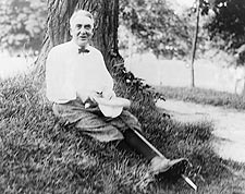 President Warren G. Harding Golfing 1915  Photo Print for Sale