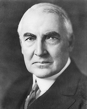 President Warren G. Harding Portrait Photo Print