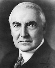 29th U.S. President Warren G. Harding Photos