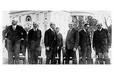 President Warren G. Harding w/ Cabinet Photo Print for Sale
