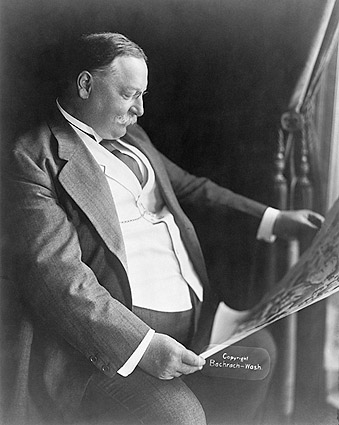 President William H. Taft Seated Portrait Photo Print