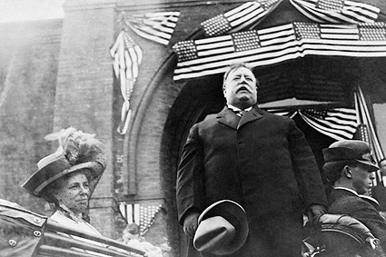 President William Howard Taft Speech 1910 Photo Print