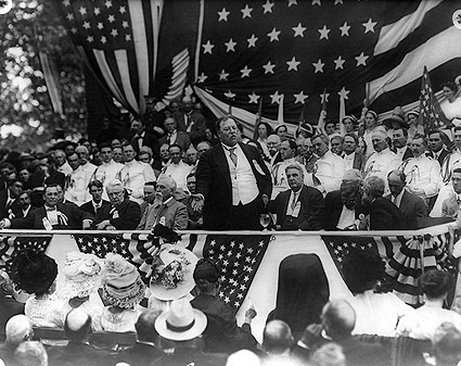 President William Howard Taft Speech 1911 Photo Print