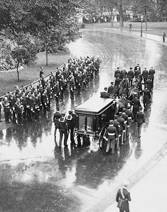 President William McKinley Funeral Photo Print