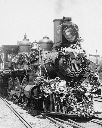 President William McKinley Funeral Train Photo Print
