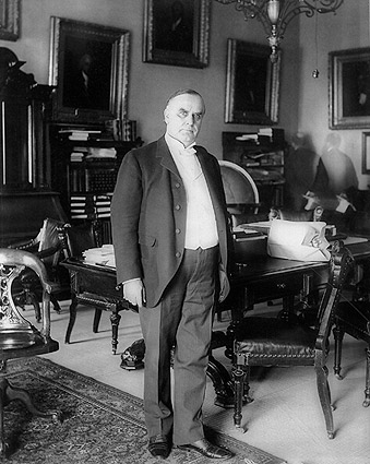 President William McKinley Portrait 1898 Photo Print