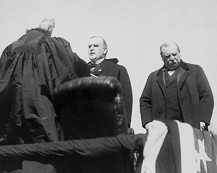President William McKinley Taking Oath of Office 1897 Photo Print