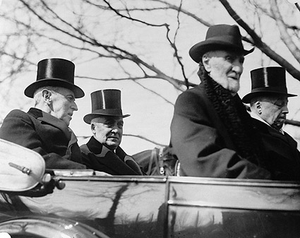 President Wilson & Harding in Convertible Photo Print