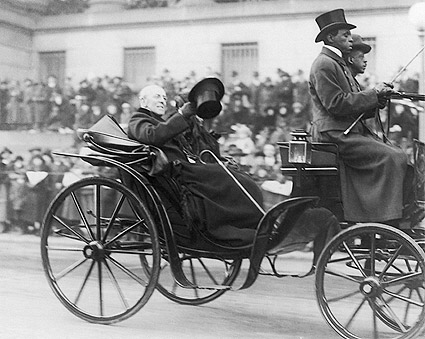President Woodrow Wilson in Carriage Photo Print