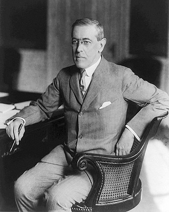President Woodrow Wilson Portrait Photo Print