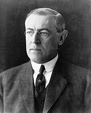 28th U.S. President Woodrow Wilson Photos