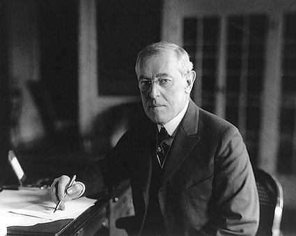 President Woodrow Wilson Seated Portrait Photo Print