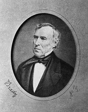 President Zachary Taylor Portrait Photo Print