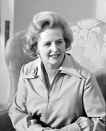 Prime Minister of England Margaret Thatcher Photo Print