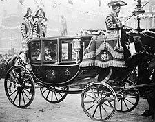 Princess Mary of Harewood in Wedding Coach Photo Print for Sale