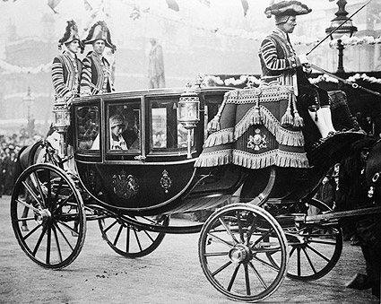 Princess Mary of Harewood in Wedding Coach Photo Print