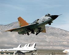 QF-106 / F-106 Aircraft Takeoff NASA Photo Print for Sale