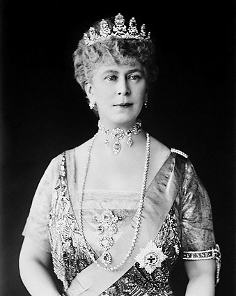 Queen Mary of United Kingdom Portrait  Photo Print