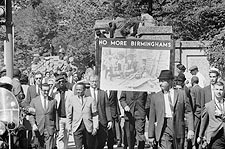 Racial Equality March Civil Rights Wash. DC Photo Print for Sale