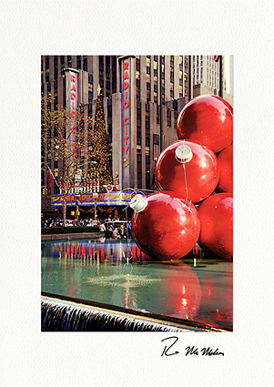 Radio City Christmas, New York City Photo Boxed Greeting Cards