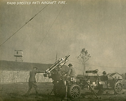 Radio Directed Anti Aircraft Fire WWI Photo Print