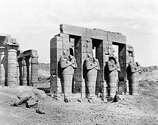 Ramesses the Great Memorial Temple in Egypt Photo Print for Sale