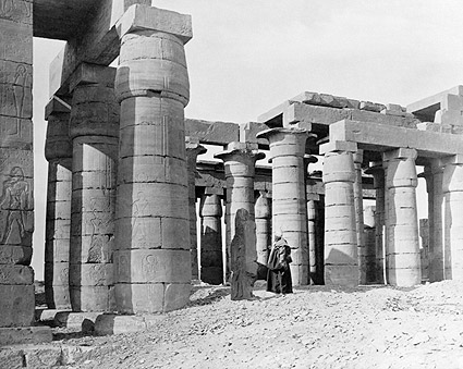 Ramesses the Great Memorial Temple in Egypt Photo Print