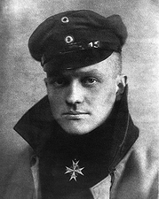 Red Baron Manfred von Richthofen Portrait Photo Print