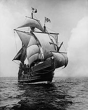Replica of Christopher Columbus Ship Santa Maria Photo Print for Sale