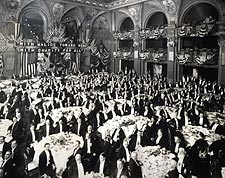Republican Dinner Waldorf-Astoria Hotel Photo Print for Sale
