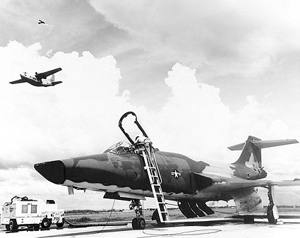 RF-101/F-101 Voodoo w/ C-123 & O-2 Photo Print