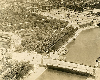 River Seine in Paris 1915 Photo Print