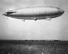 Roald Amundsen Blimp Airship I-SAAN Photo Print