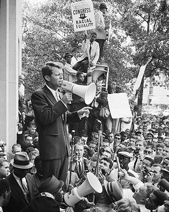 Robert F Kennedy Civil Rights Demonstration Photo Print