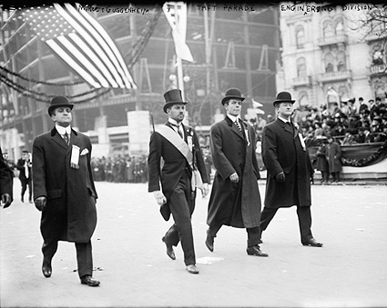 Robert Guggenheim at Taft Parade 1908 NYC Photo Print