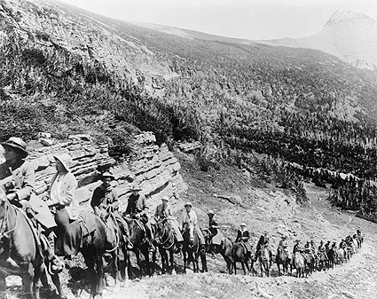 Rocky Mountain American Old West Horseback Photo Print