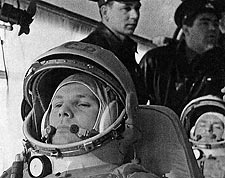 Russian Cosmonaut Yuri Gagarin Photo Print for Sale