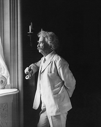 Samuel Mark Twain Clemens Portrait Photo Print