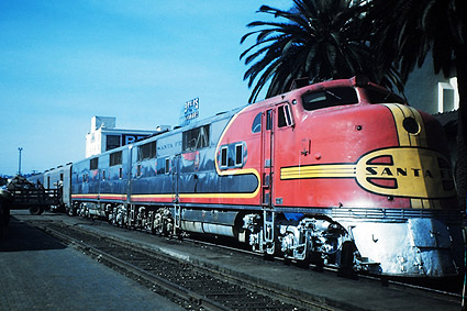 San Diego ATSF Railway E-1AB Train Photo Print