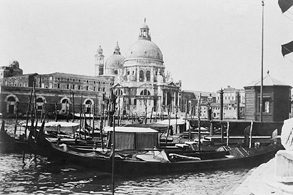Santa Maria della Salute Church Italy 1905 Photo Print